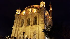 Взгляд ночи Stanbul церков mouslim Стоковая Фотография