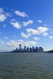Взгляд Нью-Йорка, США стоковое изображение