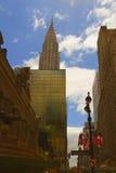 Взгляд Нью-Йорка, США стоковая фотография rf