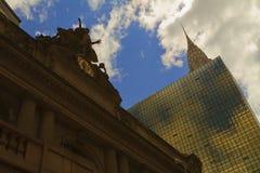 Взгляд Нью-Йорка, США стоковое фото