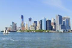 Взгляд Нью-Йорка, США стоковая фотография