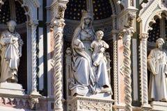 Взгляд дня собора Флоренса, Тоскана, Италия Стоковая Фотография