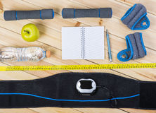 Взгляд оборудования фитнеса Стоковые Фото