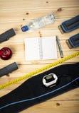 Взгляд оборудования фитнеса Стоковое фото RF