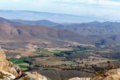 Взгляд обрабатываемых земель Стоковое Изображение RF