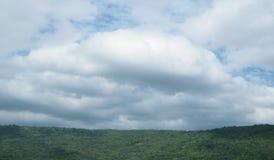 Взгляд облаков и неба Стоковые Фото