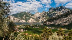 Взгляд озера Garda Стоковые Изображения RF