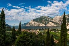 Взгляд озера Garda Стоковое Фото