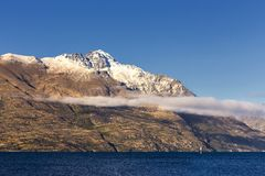 Взгляд озера Wakatipu Стоковая Фотография