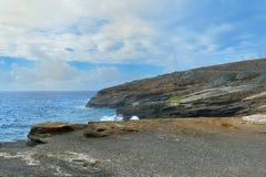 Пляж Гавайи Стоковая Фотография
