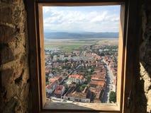 Взгляд окна в замке Стоковые Фотографии RF