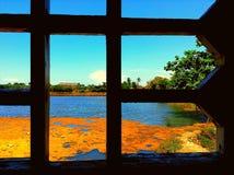 Взгляд окна Стоковое Фото
