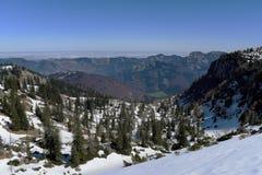 Взгляд около холма Kasberg Стоковое Изображение RF
