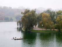 Взгляд осени в парке Стоковая Фотография RF