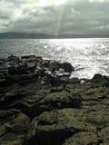 Взгляд острова Rathlin Стоковое Изображение RF