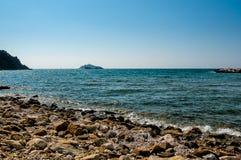 Взгляд острова Sparviero Стоковое Изображение RF