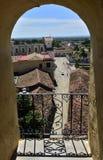 Взгляд от башни Св.а Франциск Св. Франциск монастыря и церков Assisi Куба Тринидад Стоковые Фото