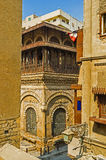 взгляд от балкона Стоковые Изображения