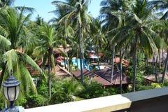 Взгляд от балкона Стоковое Изображение