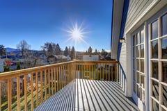 Взгляд от верхней палуба дома мастера Стоковые Фотографии RF