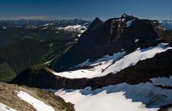 Взгляд от вершины дамы Пика, Британской Колумбии Стоковая Фотография RF