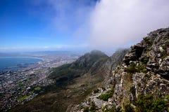 Взгляд от вершины горы таблицы Стоковая Фотография RF