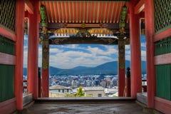 Старое и новое Киото Стоковые Фотографии RF