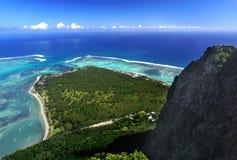 Взгляд от всемирного наследия ЮНЕСКО горы Le Брабанта стоковая фотография