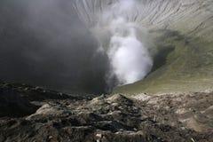 Взгляд от вулкана Bromo Стоковое Изображение