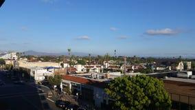 Взгляд от гаража в Сан-Диего стоковые фотографии rf
