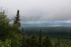 Взгляд от горы Стоковые Фото