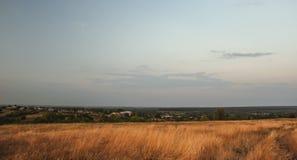 Взгляд от горы Стоковая Фотография RF