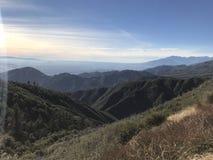 Взгляд от горы Big Bear Стоковая Фотография RF