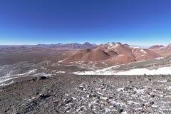 Взгляд от горы Lascar Стоковое Изображение