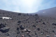 Взгляд от горы Lascar Стоковые Изображения RF
