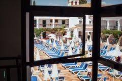Взгляд от гостиницы к гостинице! Стоковые Фото