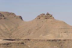 Взгляд от деревни Chenini Стоковые Фото