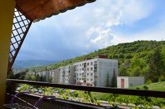 Взгляд от жилого квартала Стоковое Фото