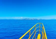 Взгляд от корабля Стоковое Фото