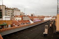 Взгляд от крыши стоковые фото