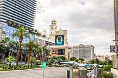 Взгляд от Лас Вегас Боулевард Стоковое Изображение