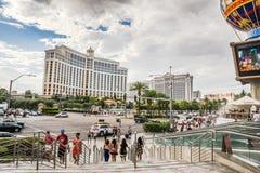 Взгляд от Лас Вегас Боулевард Стоковое Изображение RF