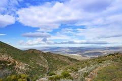 Взгляд от Ла Carrasca к Sorbas Стоковая Фотография
