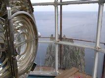 Взгляд от маяка на скале Стоковые Изображения RF