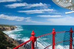 Взгляд от маяка стоковое фото rf