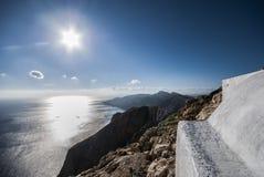 Взгляд от монолита высоты 460m! Стоковая Фотография