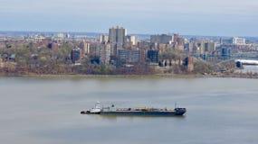 Взгляд от Нью-Джерси Стоковые Фотографии RF