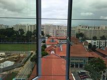 Взгляд от дома Стоковое фото RF