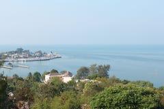 Взгляд от острова Стоковое Изображение