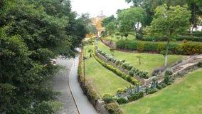 Взгляд от парка, Лима обители Barranco стоковые фотографии rf